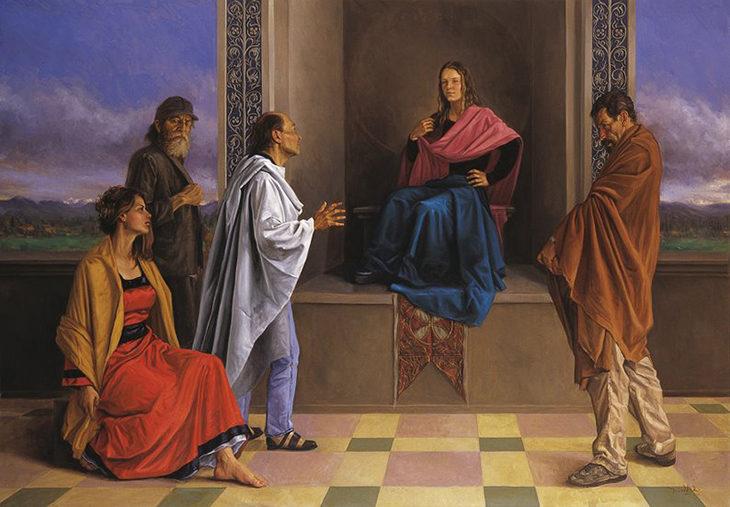 Dario Ortiz Painting ⓖ thegallerist.art