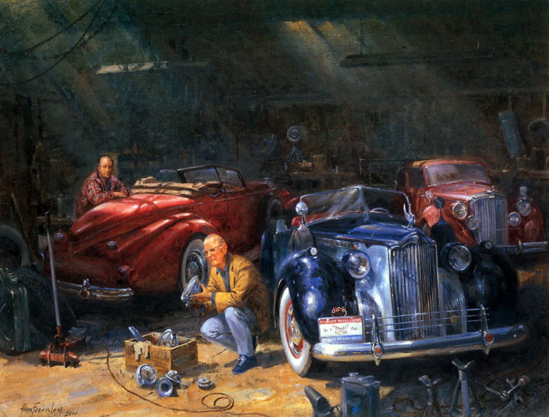 Alan Fearnley Painting ⓖ thegallerist.art