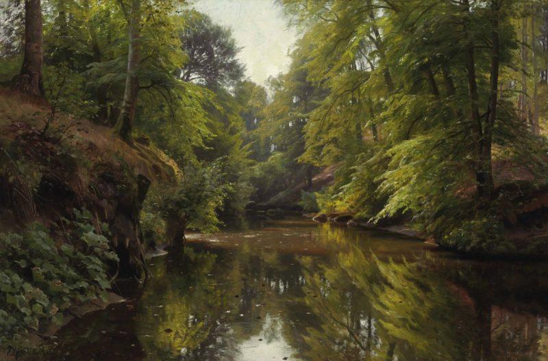 Peder Mørk Mønsted Painting ⓖ thegallerist.art