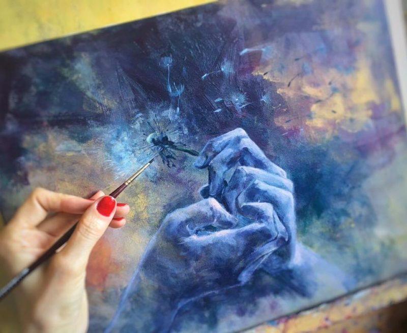 Dorina Costras Painting ⓖ thegallerist.art