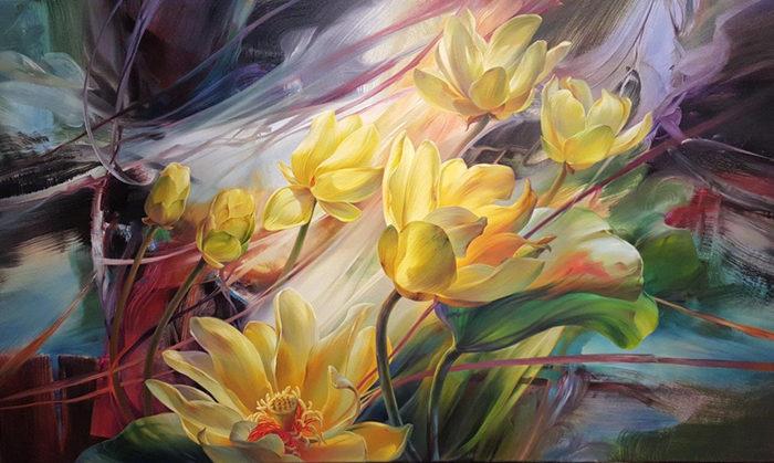 Vie Dunn-Harr Painting ⓖ thegallerist.art