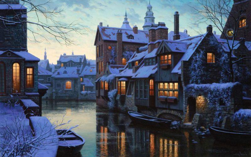 Evgeny Lushpin Painting ⓖ thegallerist.art