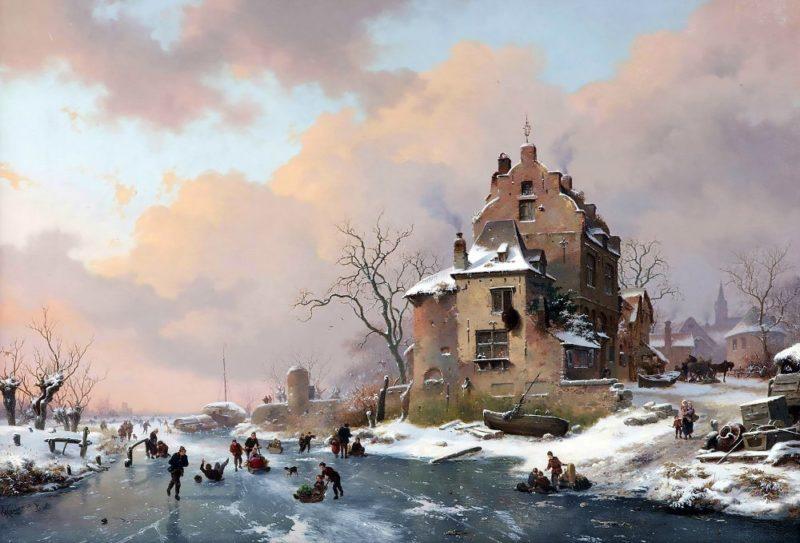 Fredrik Marinus Kruseman Painting ⓖ thegallerist.art