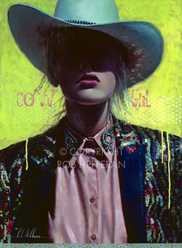 Rob Hefferan Painting ⓖ thegallerist.art