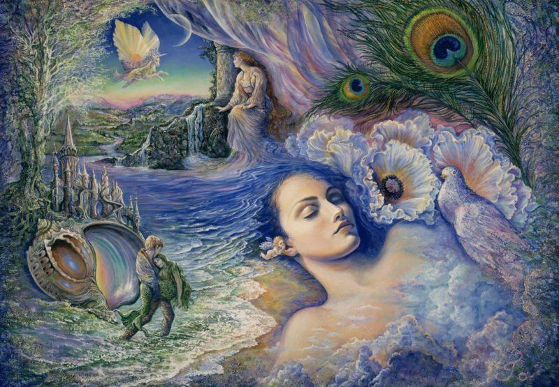 Josephine Wall Painting ⓖ thegallerist.art