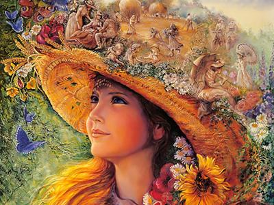 Josephine Wall Art ⓖ thegallerist.art