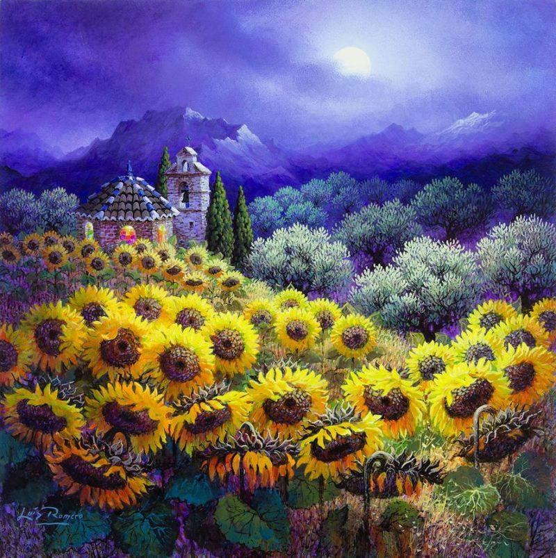 Luis Romero Painting ⓖ thegallerist.art