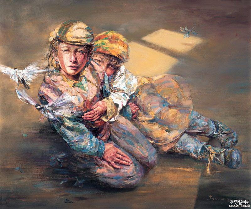 Yan Yaya Painting ⓖ thegallerist.art