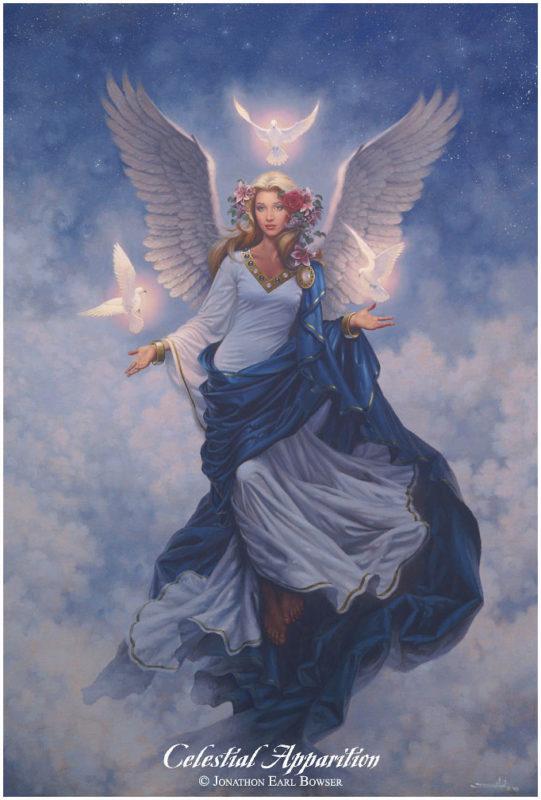 Celestial-Apparition-1998-by-Jonathon Earl Bowser Art ⓖ thegallerist.art