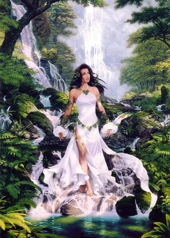 River Genesis -Jonathon Earl Bowser Art ⓖ thegallerist.art
