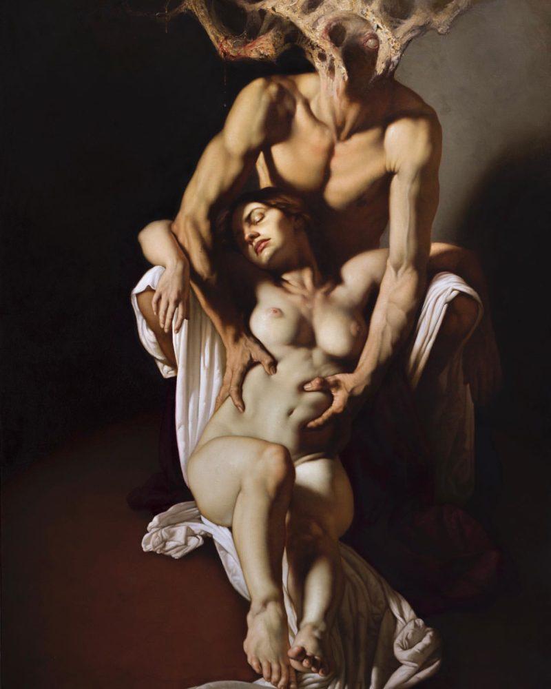 Roberto Ferri Painting ⓖ thegallerist.art