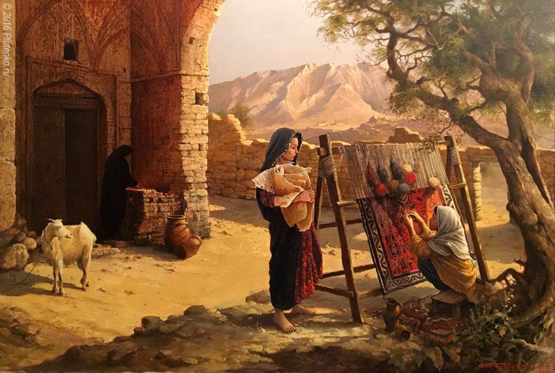 Stanislav Plutenko Painting ⓖ thegallerist.art