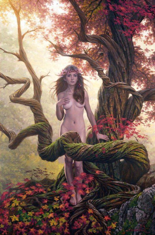 Still Falling from the Hidden Country - Jonathon Earl Bowser Art ⓖ thegallerist.art