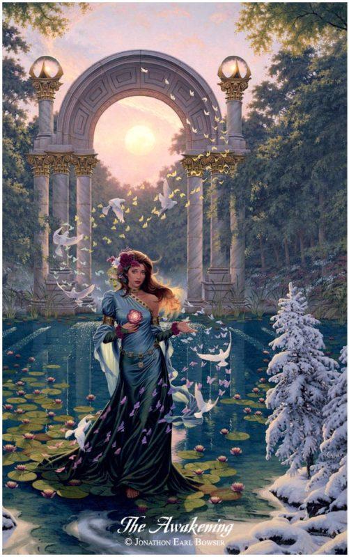 The-Awakening-1998-by-Jonathon Earl Bowser Art ⓖ thegallerist.art