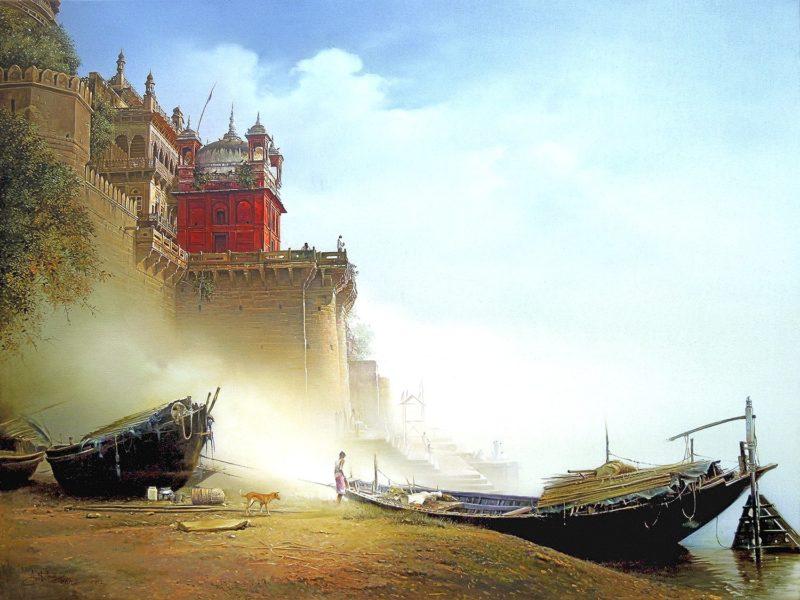 Amit Bhar Painting thegallerist.art