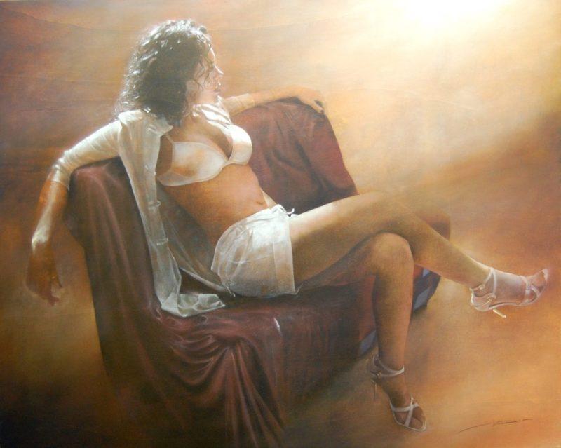 Antonio Sgarbossa painting - thegallerist.art