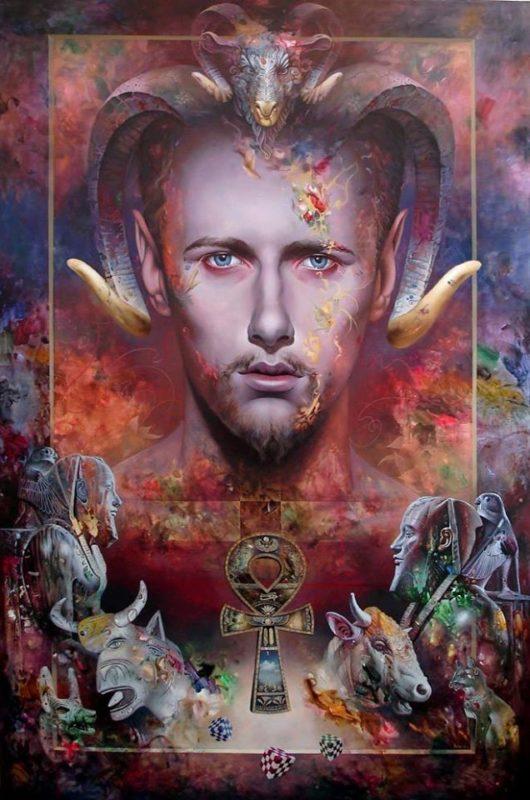Dragan Ilic Di Vogo Painting thegallerist.art