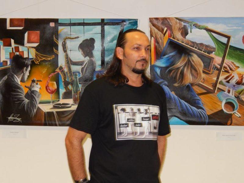 Mihai Adrian Raceanu Painting ⓖ thegallerist.art