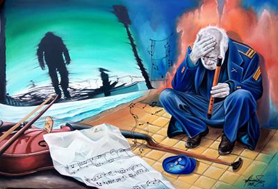 Mihai Adrian Raceanu Art ⓖ thegallerist.art