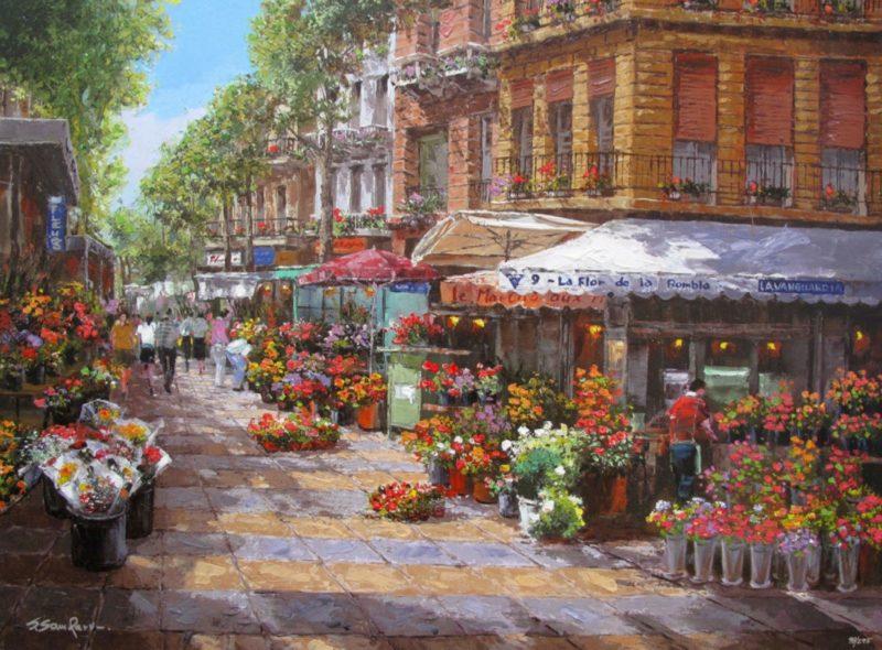 Sung Sam Park Painting thegallerist.art