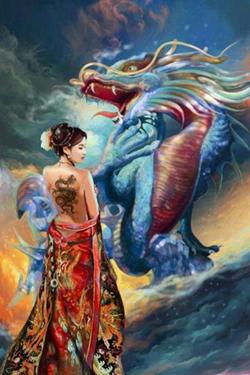 The Origin of Dragons Thegallerist.art
