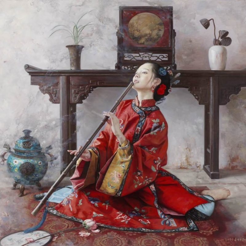 Wang Ming Yue Painting ⓖ thegallerist.art
