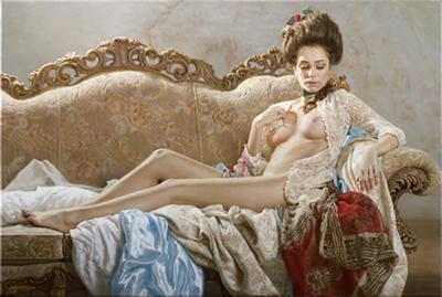 Marina Marina Art_thegallerist.art_erotic painting_fine nude art_erotic art