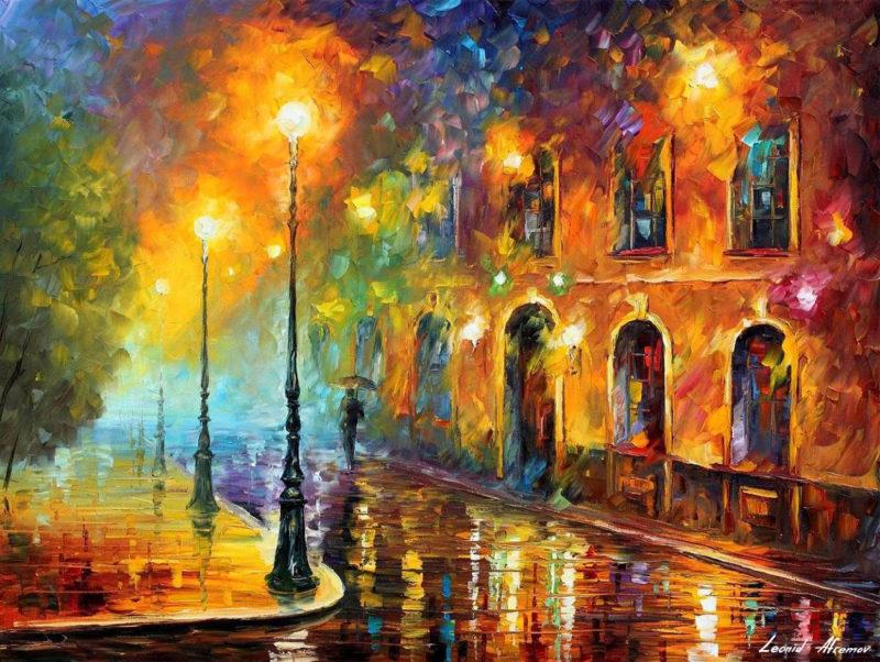 Leonid Afremov Art ⓖ thegallerist.art