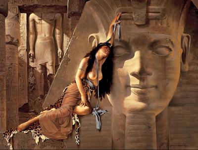 Maher Morcos Art_sacred sexuality_erotic religious art_erotic painting_erotic art