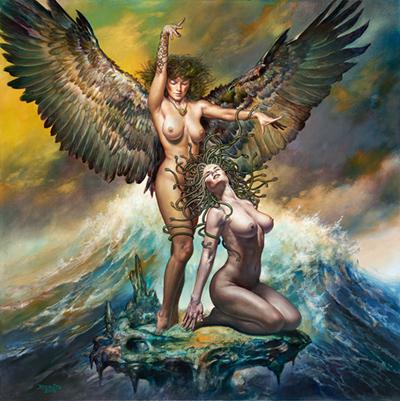 Boris Vallejo Art ⓖ thegallerist.art