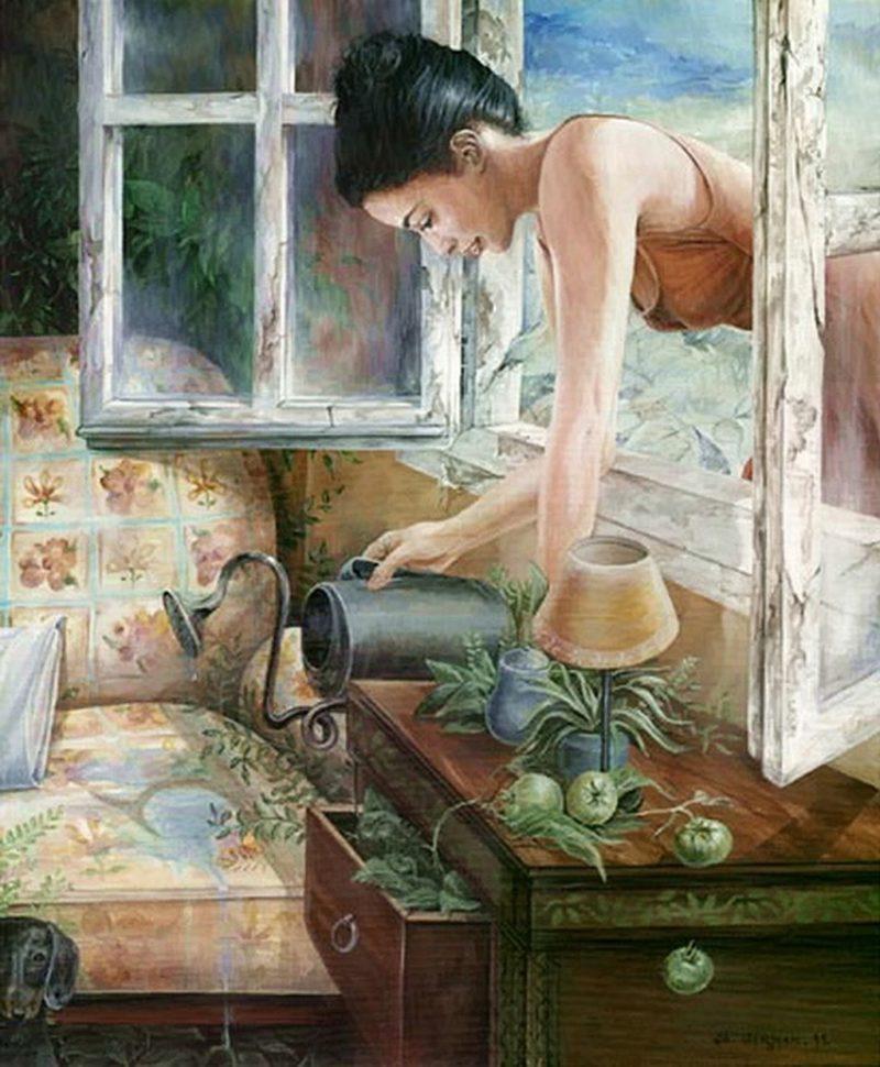 Chelin Sanjuan Art ⓖ thegallerist.art