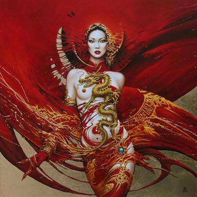 Karol Bak Art_thegallerist.art_erotic_painting_erotic_art