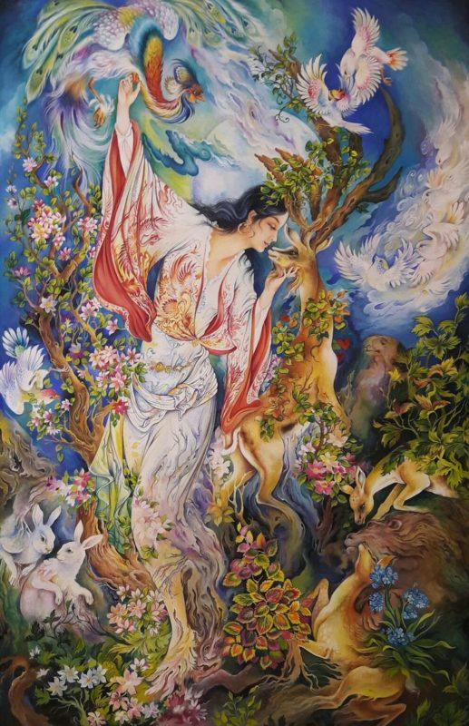 Mahmoud Farshchian Art ⓖ thegallerist.art