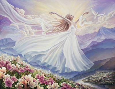 Anna Steshenko Spiritual painting
