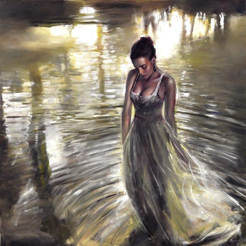 Emilia Wilk_Romantic Figurative painting_thegallerist.art
