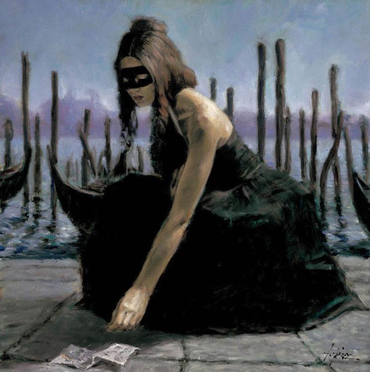 Fabian Perez Art ⓖ thegallerist.art