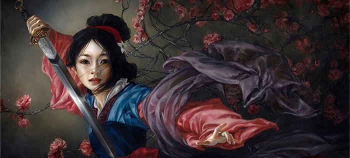 Heather Theurer Fantasy painting thegallerist.art
