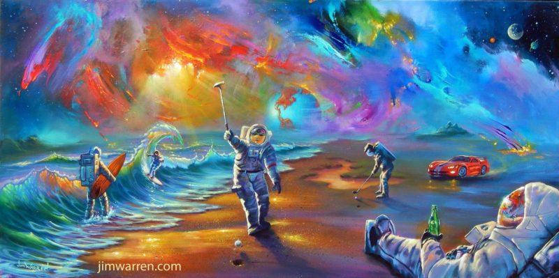 Jim Warren Art ⓖ thegallerist.art