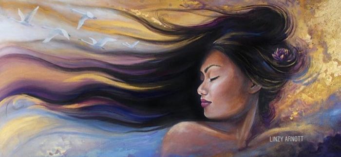 Linzy Arnott Spiritual painting