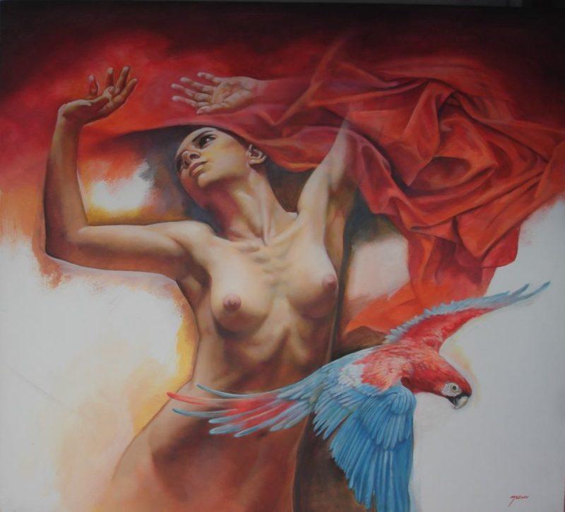 Rafael Merino Art ⓖ thegallerist.art