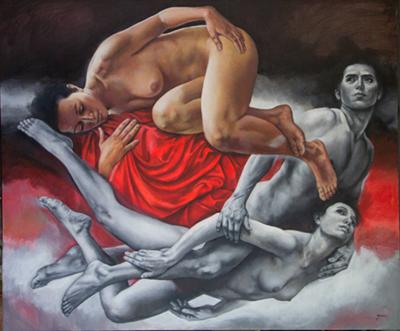 Rafael Merino Sensual painting