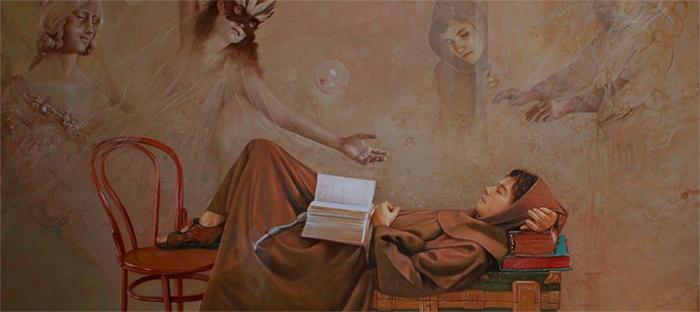 Ramiro Ramirez Cardona Surrealism painting thegallerist.art