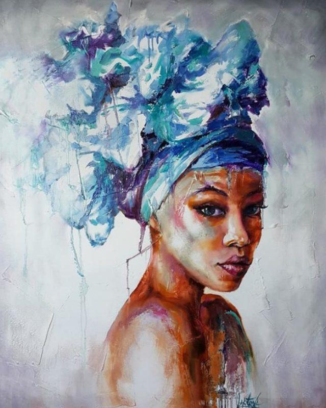 Victoria Lapteva Art ⓖ thegallerist.art