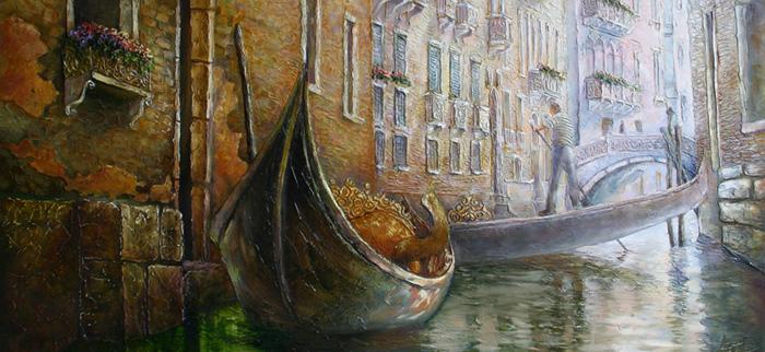 Victoria Lapteva Venice Painting thegallerist.art