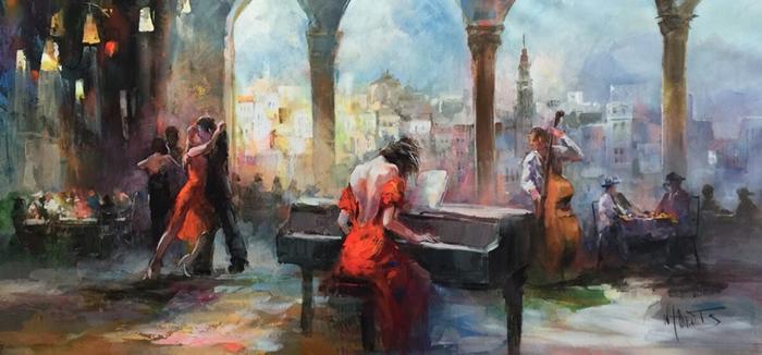 Willem Haenraets Music painting