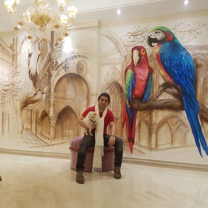 Adak Jamshidzadeh Art ⓖ thegallerist.art