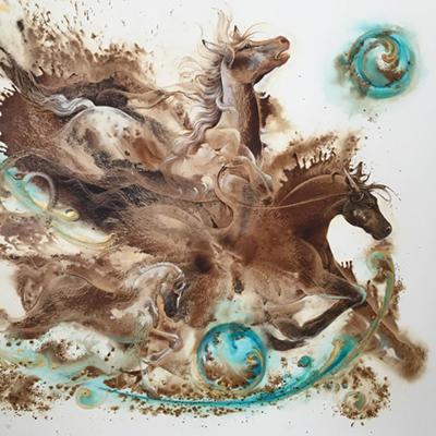 Adak Jamshidzadeh surrealism painting
