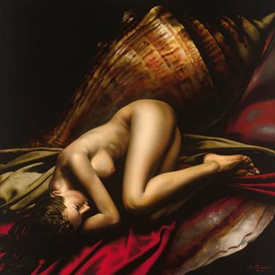 Alexey Golovin Sensual painting