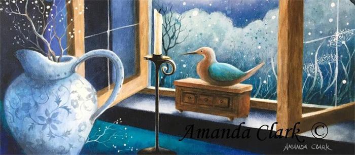 Amanda Clark Fantasy painting
