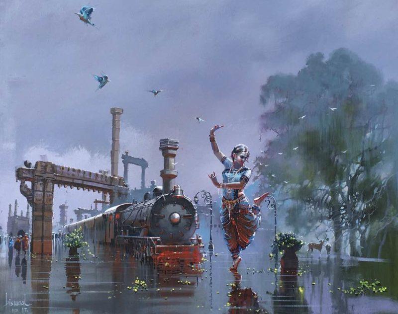 Bijay Biswaal Art ⓖ thegallerist.art